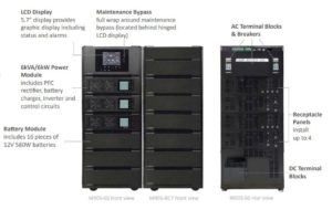 6kva Modular UPS, 12kva modular UPS, 18kva Modular UPS, 24kva modular UPS