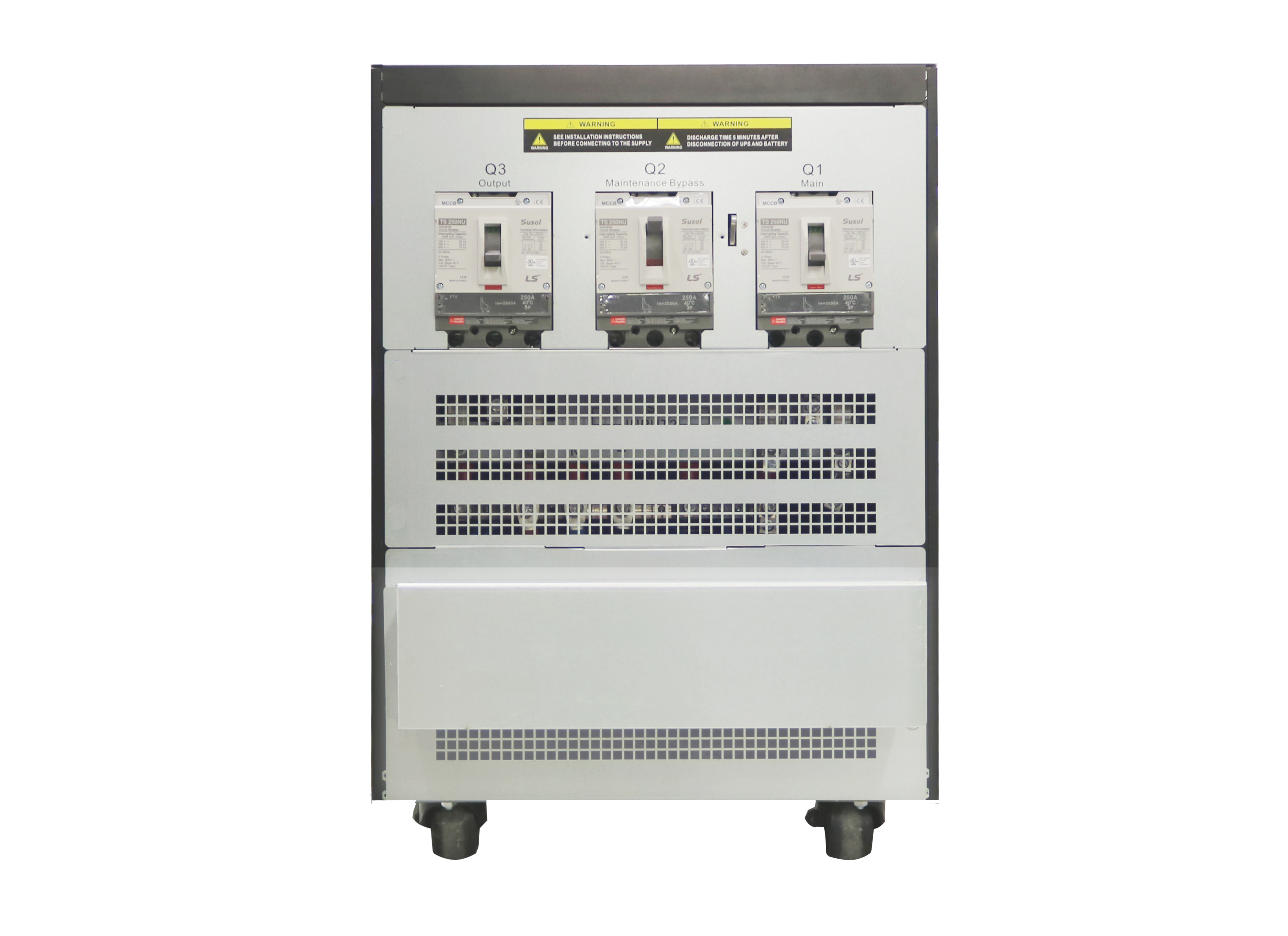 20kVA Parallel Online UPS | Three Phase 200V | Double Conversion